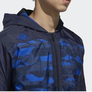 アディダス(adidas)の新品 O アディダス プロフェッショナル プロ使用モデル ウィンドブレーカー 青(ナイロンジャケット)