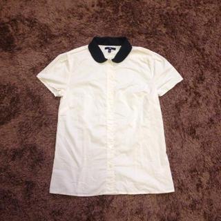 ギャップ(GAP)のgap バイカラーシャツ(シャツ/ブラウス(半袖/袖なし))