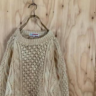 マックレガー(McGREGOR)の90's McGREGOR Fishermans knit ケーブルアランニット(ニット/セーター)