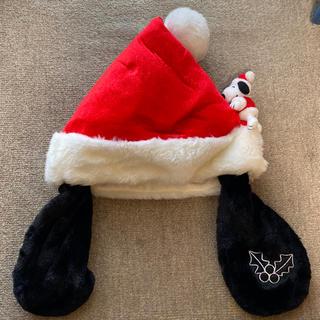 ユニバーサルスタジオジャパン(USJ)のユニバーサルスタジオ スヌーピー クリスマス帽子(キャラクターグッズ)