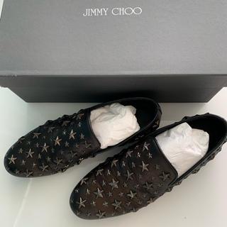 ジミーチュウ(JIMMY CHOO)の新品同様美品✨正規品✨ジミーチュウ メンズ スタッズスリッポン(スリッポン/モカシン)