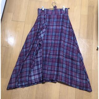 ミラオーウェン(Mila Owen)のミラオーウェン♡チェックスカート(ロングスカート)