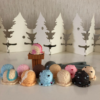 アイスクリームセット(知育玩具)