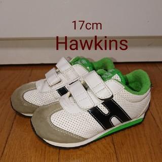 ホーキンス(HAWKINS)の ホーキンス ・ スニーカー 白色 ・17センチ(スニーカー)