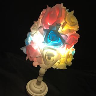 バラ 薔薇 ローズ アンティーク調ライト 間接照明 テーブルランプ フラワー(その他)