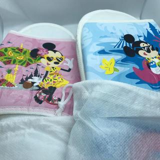 ディズニー(Disney)の香港ディズニーホテルルームスリッパ(スリッパ/ルームシューズ)
