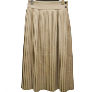 ハイク(HYKE)のHYKE ハイク プリーツスカート ベージュ size2 (ロングスカート)