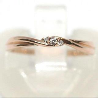 スタージュエリー(STAR JEWELRY)のスタージュエリー K10 ダイヤモンド 0.02ct リング(リング(指輪))