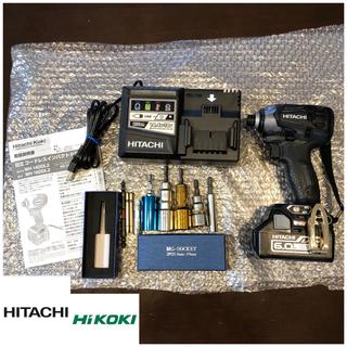 ヒタチ(日立)のHITACHI インパクト  18v 新品(工具/メンテナンス)