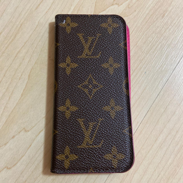 LOUIS VUITTON - 正規品 ルイヴィトン iPhone8 iPhoneケースの通販