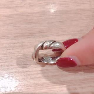 エルメス(Hermes)のHermes正規品♡シルバーリング(リング(指輪))
