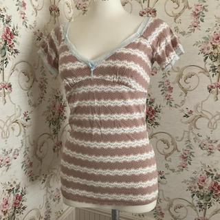 ワコール(Wacoal)の未使用ワコール日本製 可愛いマタニティシャツ(マタニティトップス)