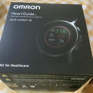 オムロン(OMRON)のオムロン ウェラブル血圧計 HCR-6900-T(その他)