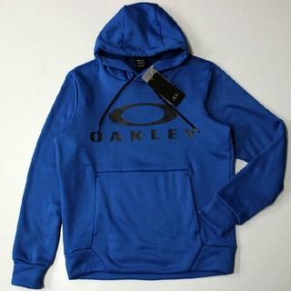 オークリー(Oakley)の新品 XL オークリー 裏起毛ビックロゴスウェットパーカー(パーカー)