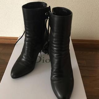 クリスチャンディオール(Christian Dior)のクリスチャンディオール ブーツ35(ブーツ)