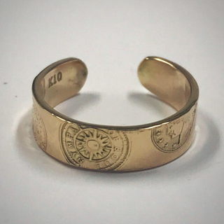 エスオーエスエフピー(S.O.S fp)の仕上済☆SYMPATHY OF SOUL☆K10Yellow Gold ring(リング(指輪))