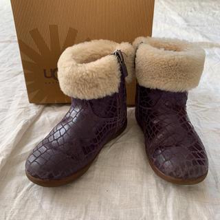 アグ(UGG)のUGG アグ 16 クロコダイル 羊毛 日本未発売(ブーツ)