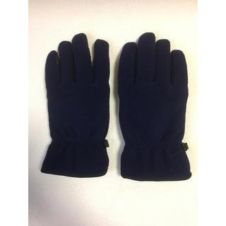 ユニクロ(UNIQLO)のUNIQLO ユニクロ手袋 紺色(手袋)