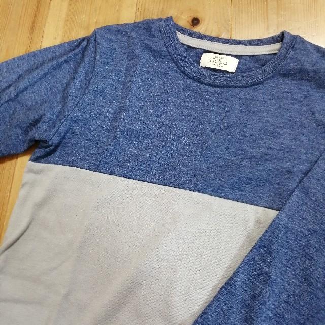 ikka(イッカ)の〈120〉ikka 長袖 トップス キッズ/ベビー/マタニティのキッズ服男の子用(90cm~)(Tシャツ/カットソー)の商品写真