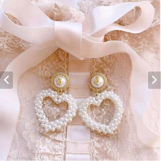 ハニーサロン(Honey Salon)のHeart beads pierce ハート ピアス(ピアス)