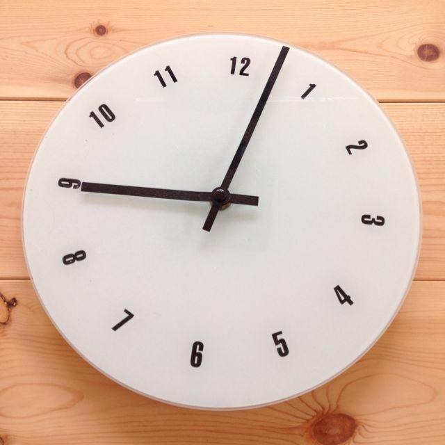 COMME CA ISM(コムサイズム)の♡モノコムサ  壁掛け時計♡無印良品 インテリア/住まい/日用品のインテリア小物(掛時計/柱時計)の商品写真