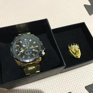 アヴァランチ(AVALANCHE)のHIPHOP    時計 and    指輪  (腕時計(アナログ))