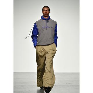 ジョンローレンスサリバン(JOHN LAWRENCE SULLIVAN)のJOHNLAWRENCESULLIVAN 18ss フードシャツ(シャツ)