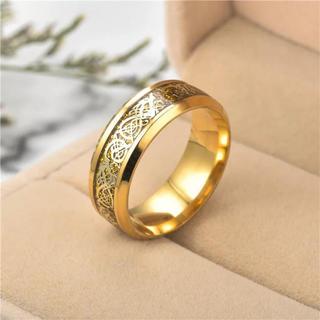 龍紋柄リング(リング(指輪))