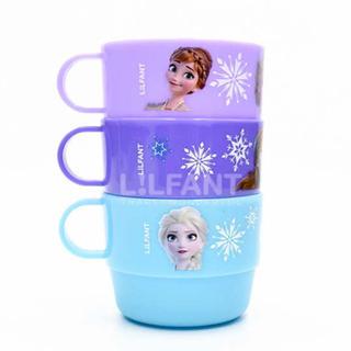 アナトユキノジョオウ(アナと雪の女王)の新作 ! アナ雪 アナと雪の女王 2 コップ セット カップ キッズ 子供 食器(グラス/カップ)