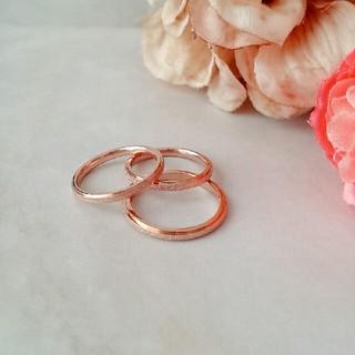 アガット(agete)の18Kgf♥Rosepink ring (リング(指輪))