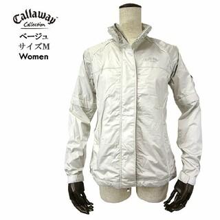 キャロウェイゴルフ(Callaway Golf)のCallaway キャロウェイ ウィンドブレーカー S~M ゴルフウェア 女性用(ウエア)