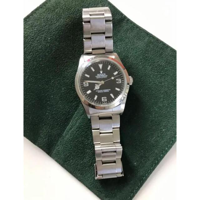 ロレックス 修理 値段 | ROLEX - 交渉有、即決額ご提示下さい。Rolex☆エクスプローラーの通販 by aloha☆'s shop