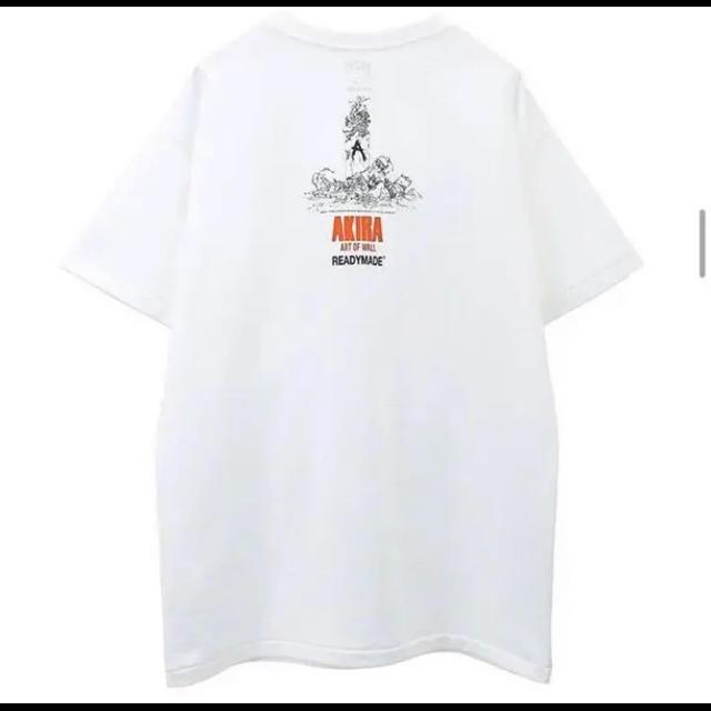 JAM HOME MADE & ready made(ジャムホームメイドアンドレディメイド)のREADYMADE × AKIRA 3 PACK T  Lサイズ レディーメイド メンズのトップス(Tシャツ/カットソー(半袖/袖なし))の商品写真