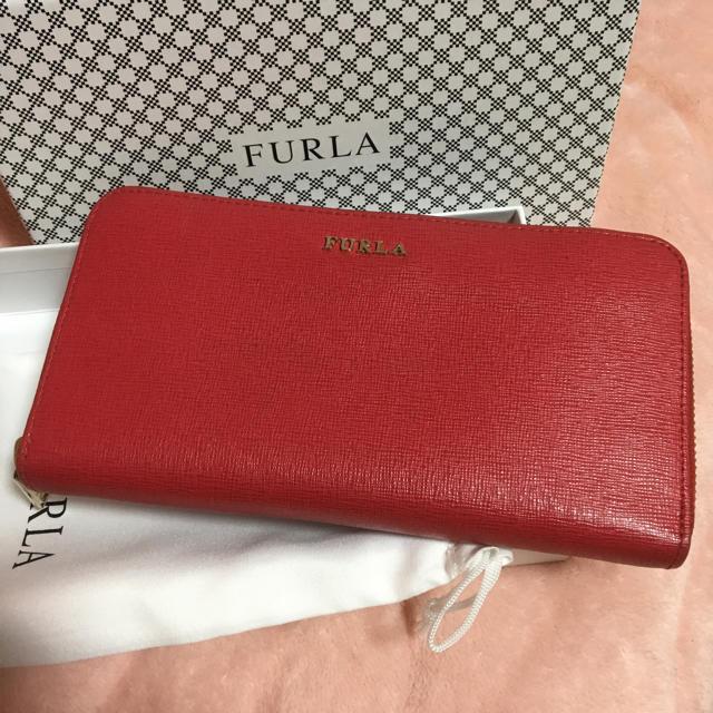 Furla - ラウンドファスナー長財布の通販 by もんち's shop