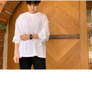 ハイク(HYKE)のHYKE 人気即完売ロングスリーブTシャツ+メゾンエウレカロンハーマン(Tシャツ(長袖/七分))