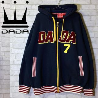 ダダ(DADA)の【DADA】ダダ パーカー ストリート 肉厚 フルジップ/Lサイズ(パーカー)