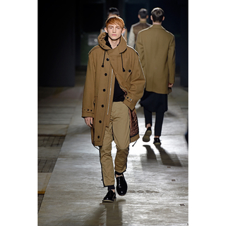 DRIES VAN NOTEN - dries van noten サイドラインパンツ
