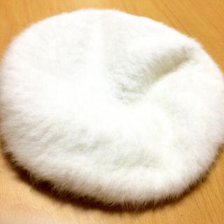 ふわふわベレー帽(ハンチング/ベレー帽)