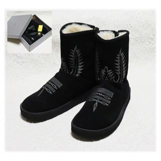 ビームス(BEAMS)の40,700円新品【スイコック】BEAMS ムートンブーツ 黒 (26cm)(ブーツ)