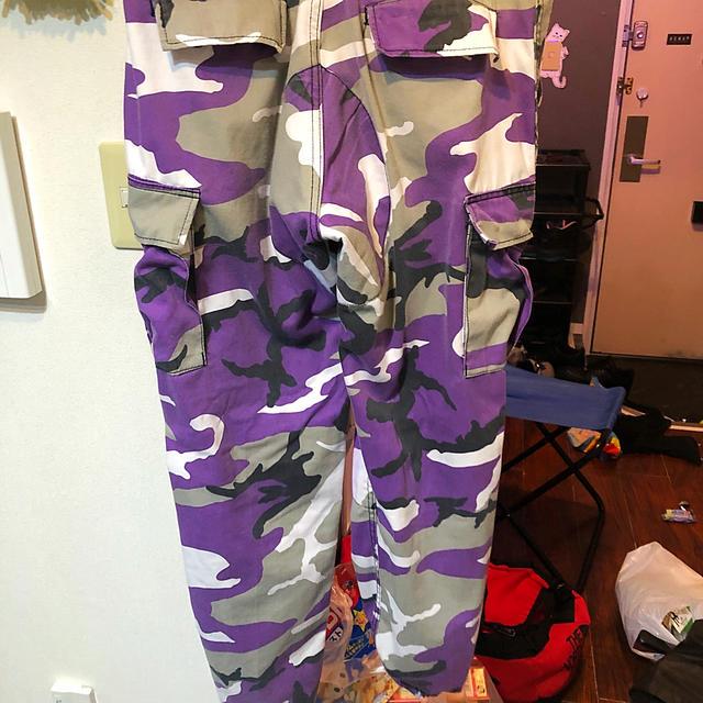 ROTHCO(ロスコ)のロスコ 🟣紫カーゴパンツ メンズのパンツ(ワークパンツ/カーゴパンツ)の商品写真