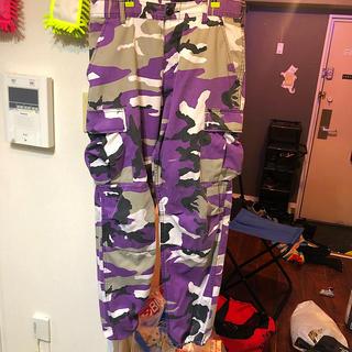 ロスコ(ROTHCO)のロスコ 🟣紫カーゴパンツ(ワークパンツ/カーゴパンツ)