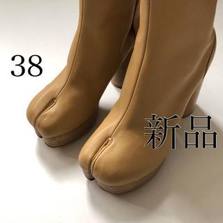 マルタンマルジェラ(Maison Martin Margiela)の新品/38 メゾン マルジェラ プラットホーム 足袋ブーツ タビブーツ(ブーツ)