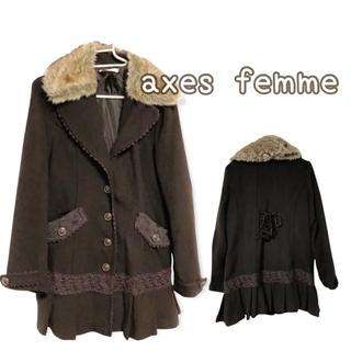 アクシーズファム(axes femme)のアクシーズ☆ショートコート☆ axes femme(その他)