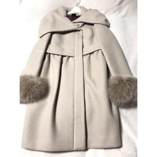 ダブルスタンダードクロージング(DOUBLE STANDARD CLOTHING)のダブスタ sov 袖ファー コート(毛皮/ファーコート)