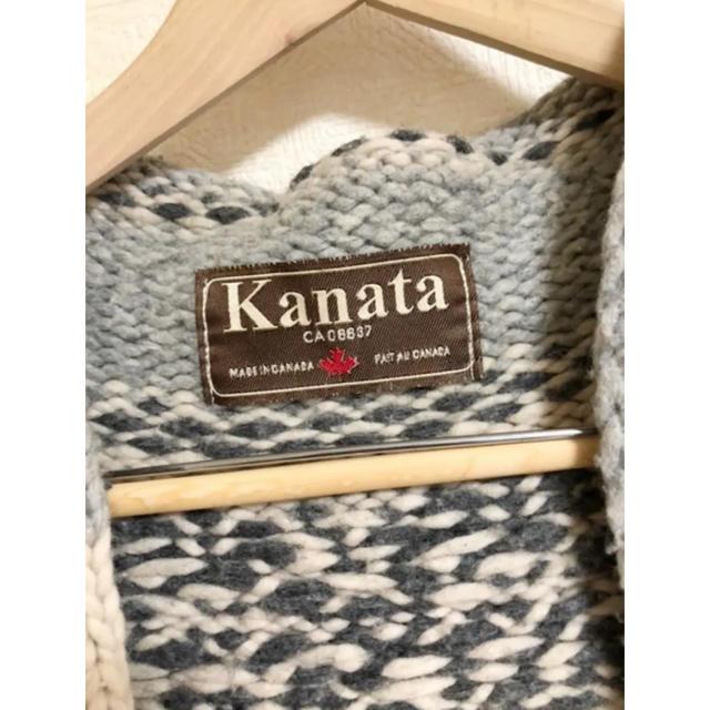 KANATA(カナタ)のKANATA ガウン カウチン レディースのトップス(ニット/セーター)の商品写真