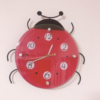 ニトリ - てんとう虫 壁掛け時計