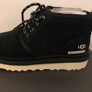 ネイバーフッド(NEIGHBORHOOD)のneighborhood ugg black boots size27cm(ブーツ)