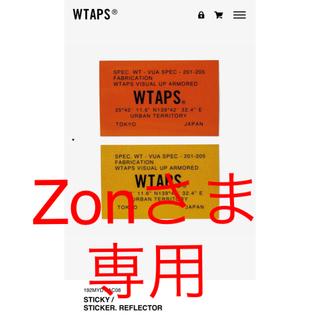ダブルタップス(W)taps)のwtaps 19aw sticker reflector ステッカー おまけ付き(その他)