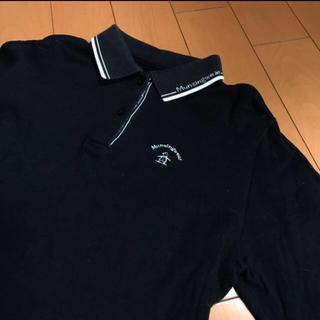 マンシングウェア(Munsingwear)のマンシングウェアレディースコットン長袖ポロ(ポロシャツ)