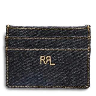 ダブルアールエル(RRL)のRRL Ralph Lauren インディゴデニム カードホルダー(名刺入れ/定期入れ)